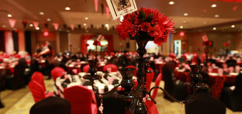 Death Defying Feats of Decor – Design on a budget for non-profit events can still pack a punch