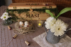No need to rush out and purchase mass produced table decor - use what you have and use what you love | Events with Vizability