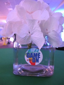 Floral vases were also decaled to carry forward the branding